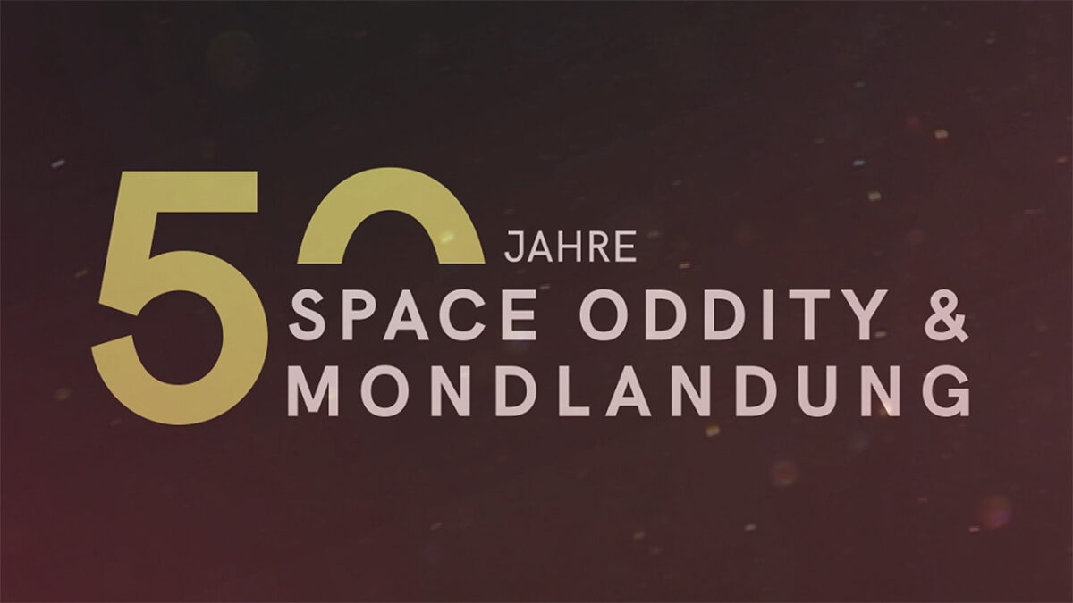 Space Oddity & Mondlandung